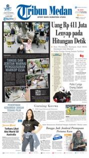 Cover Tribun Medan 02 Agustus 2019