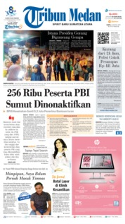 Cover Tribun Medan 03 Agustus 2019