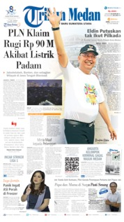 Cover Tribun Medan 05 Agustus 2019