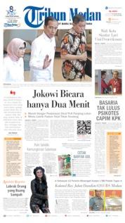 Cover Tribun Medan 06 Agustus 2019