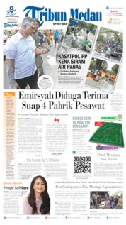 Tribun Medan Cover 08 August 2019