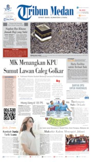 Tribun Medan Cover 10 August 2019