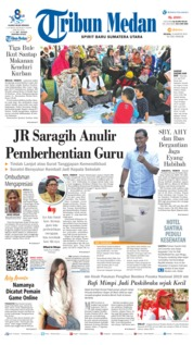 Tribun Medan Cover 13 August 2019