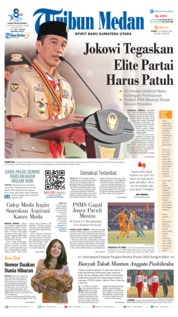 Tribun Medan Cover 15 August 2019