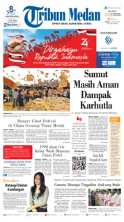 Tribun Medan Cover 16 August 2019