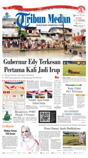 Tribun Medan Cover 18 August 2019