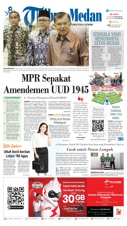 Tribun Medan Cover 19 August 2019
