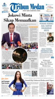 Tribun Medan Cover 20 August 2019
