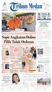 Tribun Medan Cover 22 August 2019