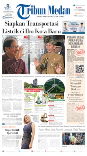 Tribun Medan Cover 23 August 2019