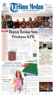 Cover Tribun Medan 24 Agustus 2019