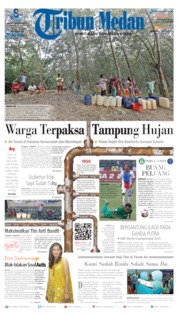 Cover Tribun Medan 25 Agustus 2019