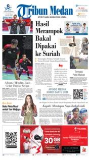 Cover Tribun Medan 26 Agustus 2019