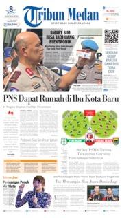 Tribun Medan Cover 28 August 2019