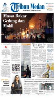 Tribun Medan Cover 30 August 2019