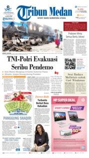 Tribun Medan Cover 31 August 2019