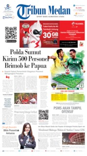 Tribun Medan Cover 02 September 2019