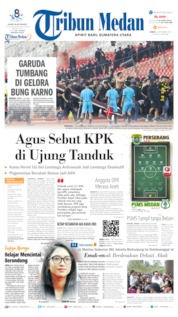 Tribun Medan Cover 06 September 2019