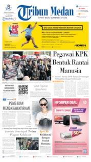 Tribun Medan Cover 07 September 2019
