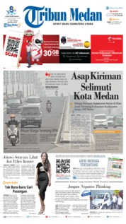 Cover Tribun Medan 09 September 2019