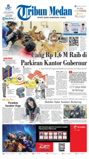 Cover Tribun Medan 11 September 2019