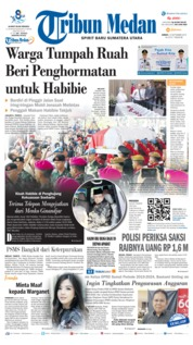 Cover Tribun Medan 13 September 2019
