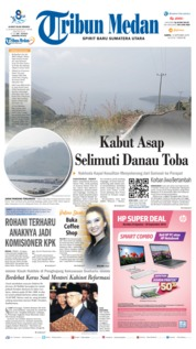 Cover Tribun Medan 14 September 2019