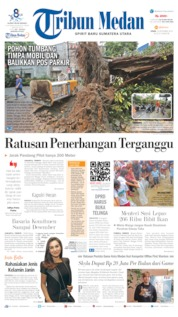 Cover Tribun Medan 16 September 2019