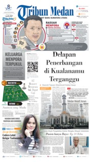 Cover Tribun Medan 19 September 2019