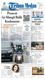 Cover Tribun Medan 20 September 2019