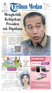 Tribun Medan Cover 21 September 2019