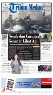 Cover Tribun Medan 03 Oktober 2019