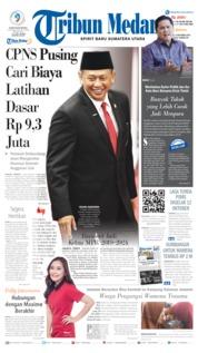 Cover Tribun Medan 04 Oktober 2019