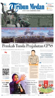 Cover Tribun Medan 05 Oktober 2019