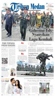 Cover Tribun Medan 06 Oktober 2019