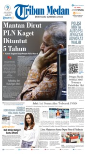 Tribun Medan Cover 08 October 2019