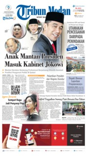 Tribun Medan Cover 09 October 2019