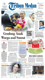 Tribun Medan Cover 10 October 2019
