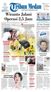 Tribun Medan Cover 11 October 2019