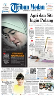 Tribun Medan Cover 13 October 2019