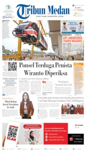 Tribun Medan Cover 14 October 2019