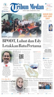 Tribun Medan Cover 15 October 2019