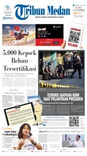 Cover Tribun Medan 16 Oktober 2019