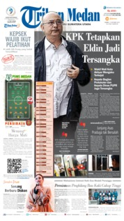 Cover Tribun Medan 17 Oktober 2019