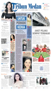 Cover Tribun Medan 20 Oktober 2019
