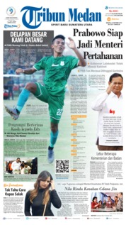 Tribun Medan Cover 22 October 2019