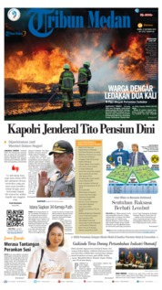 Tribun Medan Cover 23 October 2019