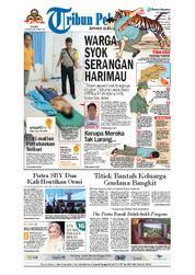 Cover Tribun Pekanbaru 12 Maret 2018