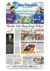 Cover Tribun Pekanbaru 14 Maret 2018