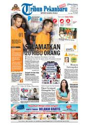 Cover Tribun Pekanbaru 17 Maret 2018